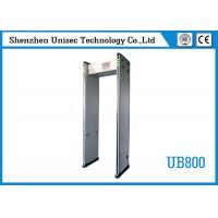33 Zones UB800 Multi Zone Metal Detector Metal Detector Sensitivity For Hotel