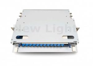 China CATV 19 Inch ODF Optical Fiber Distribution Frame 12 Port Core With Standard Size on sale