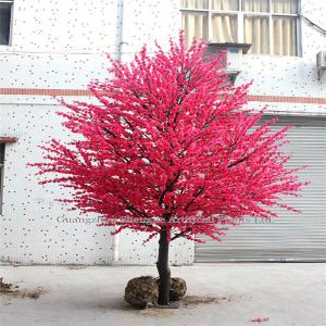 China 2-6m home indoor&outdoor decoration artificial peach tree on sale