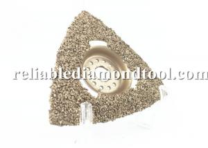 China 3 Diamond Oscillating Blade Brazed Carbide Rasp Triangluar Vacuum Brazed Diamond Blades on sale