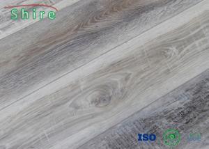 China Advanced SPC Vinyl Rigid Core Flooring , Wood Look Vinyl Sheet Flooring on sale