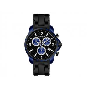 China Rubble Strap Multifunction Wrist Watch Alumium Case For Men 45.0mm on sale