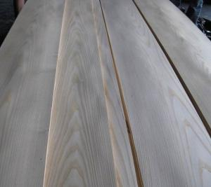 China Sliced Cut Natural American Ash Wood Veneer Sheet on sale