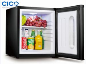 China Silent Black Small Desktop Refrigerator Eco - Friendly Low Consumption on sale