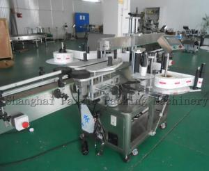 China Automatic Label Applicator Equipment Bottle Labeling Machine For Tomato Sauce on sale