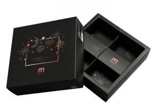 China Black Cardboard Game Box With Paper Insert Colorful Printed Standard Matt Lamination on sale