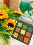 Private label Makeup cosmetics high pigmented Sunflower eyeshadow palette OEM ODM manufacturing