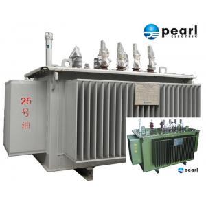 China 33 KV - 500 KVA Low Noise Power Transformer Low Loss ONAN / ONAF Cooling on sale