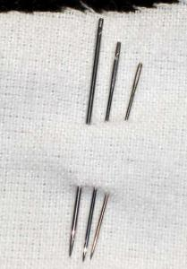 China HAX1 steel sewing needles on sale