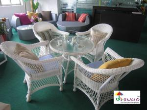 China 2012 Most Popular Rattan Table and Chair sets M-2093 on sale