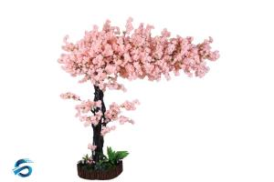 China Romantic False Cherry Blossom Tree Corrosion Resistance OEM / ODM Acceptable on sale