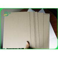 Smooth Surface Grey Paper Roll Grey Core Board Strong Harness For Packaging