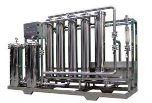 China Ultra - Filtration Pure / Drinking Water Treatment Machine 1000L - 30000L/H on sale