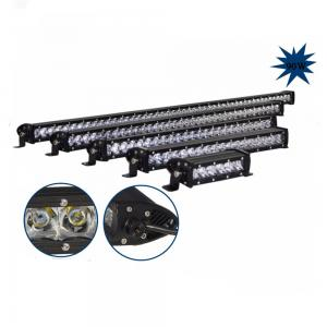 China High Power Single Row Spot Beam 20 inch 90W Offroad Led Light Bar For Jeep Truck on sale
