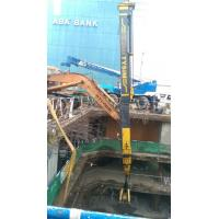 China Digging Equipment Foundation Drilling Tools , Max Digging Depth 26M Excavator Telescopic Arm on sale