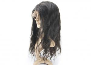 China Silk Base Top Raw Indian Remy Full Lace Wigs , Human Hair Full Lace Wigs For Black Woman on sale