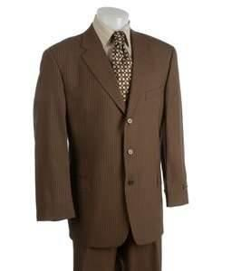 China S M Men's or Boy's Brown Business Suits School uniform cotton material viscose Suits on sale