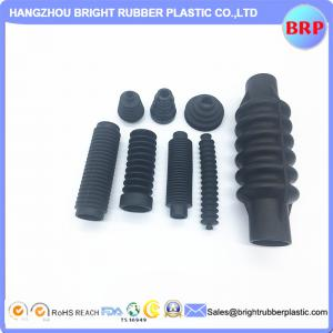 China China Manufacturer Black Customized Rubber Bellow/Rubber Boot/Rubber Support/Rubber Part/Rubber Product for shock absorb on sale