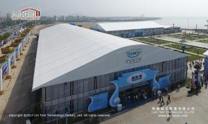 China Arcum double decker tent structure for outdoor commodity fair on sale