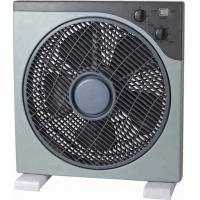 China Plastic 12 Inch AC Box Fan With Remote Control And 7.5 Hours Timer on sale