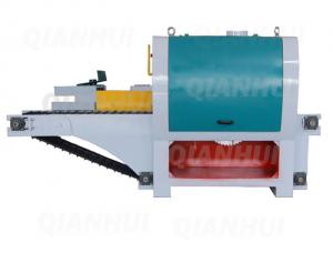 China Heavy Duty Multi Blade Rip Saw Machine for Round Timber Log on sale