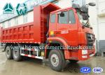 Red Hohan Heavy Duty Mine Dump Truck Multiple Security 260hp - 420hp