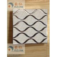 China Roller coating Aluminum Ceiling Tiles for Interior Decorations on sale