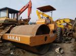 used compactor  SAKAI used road roller Model SV90 SV91 made in Japan Vibratory Smooth Drum Roller  used in shanghai