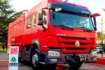 4x2 251 - 350hp SINOTRUK HOWO Firefighter Truck 6m3 Water Tank With Foam Tank