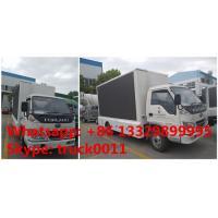 Forland RHD mobile LED fullcolor outdoor advertising vehicle for sale, Forland 4*2 RHD mobile P6/P8 LED billboard truck