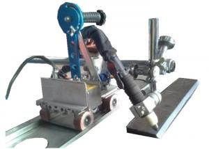 China Light Weight Automatic Welding Carriage For Metal Plate Plasma Bevel Torch on sale