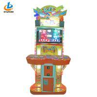 Kids Mini Custom Prize Redemption Machine Lucky Scratch Panda Battle