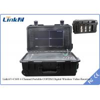 4 Channels PAL / NTSC Wireless HDMI Portable Video Receiver Female RF Interface