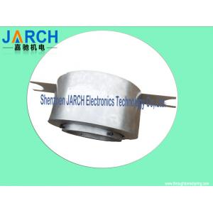 China Awg16 Lead Wire Big Through Bore Slip Ring Assembly  2 ~ 24 Conductors For Display Equipment on sale