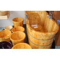 barrel sauna wood,sauna wood board,unfinished handmade pine wooden sauna bath buckets
