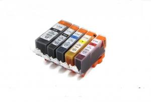 China compatible ink cartridge PGI-520 CLI-521 with chip  for Canon PIXMA IP3600 IP4600 IP4700 MP540 640 on sale