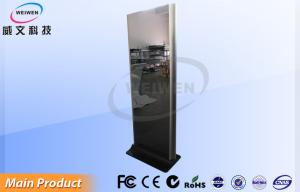 China Music Center Floor Standing Totem LCD Digital Signage With USB And SD Card Function on sale