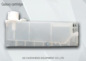 China Cartucho de tinta branco plástico solvente das peças sobresselentes 30cm da impressora a jato de tinta de Eco on sale