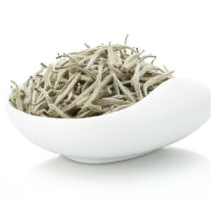 China Chinese Precious Organic Silver Needle White Tea With Fresh Leaf Buds 200g/bag on sale