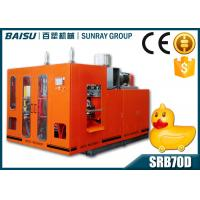 Double Station Kid Toy Blow Molding Equipment 6000 Pcs Daily Output SRB70D-1