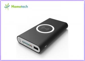 China Slim Mini Qi Wireless Power Bank 8000mah Portable Charger Dull Polish With Usb Type C Port on sale