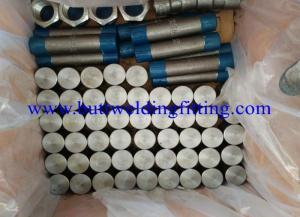 China ASTM B564 UNS N06617 Forged High Pressure Pipe Fittings Steel Tee / Nipple on sale