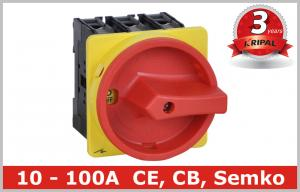China Industrial 100A Motor Isolator Switch , DIN Rail Based Mounting on sale
