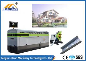 China 4900 Meter Light Gauge Steel Framing Machines Blue Color For LGS Structure Houses on sale