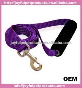 China China Custom Logo Print Retractable Bungee Nylon Dog Pet Leash on sale