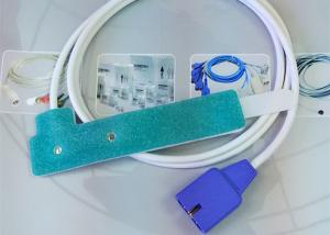 Quality Utilisation infantile du capteur SpO2 jetable de Pin du capteur 9 de sonde d for sale