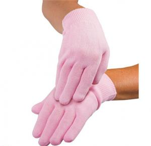 China Beauty Salon Moisturising Gel Gloves With Vitamin E , Jojoba oil on sale
