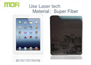 China Super Fiber Anti-crash Ipad Protective Cases / Pouch With Laser Logo on sale