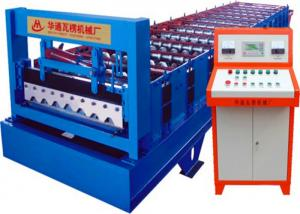 China Arched Curving Roof Panel Roll Forming Machine / Metal Roofing Machines on sale