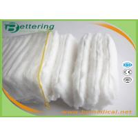 High quality 100% pure cotton Pleat Zig zag cotton wool roll absorbent cotton wool pleat